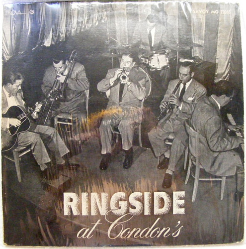 WILD BILL DAVISON, Eddie Condon Ringside at Condon SAVOY 22055 Argentina LP EX