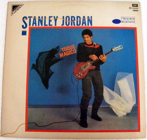 STANLEY JORDAN Toque Magico MANHATTAN 108352 Argent LP EX/EX