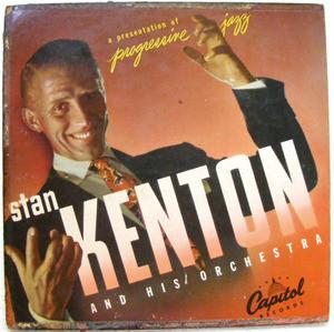 "STAN KENTON Progressive Jazz CAPITOL H-172 Arg 10"" LP"