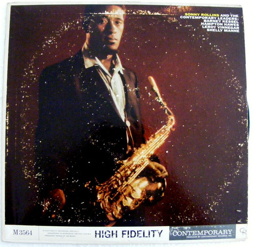 SONNY ROLLINS & THE Contemporary M3564 Arg MONO LP