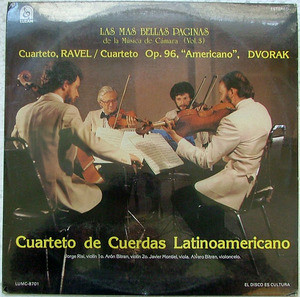 Sealed LATINOAMERICAN STRING QTET Luzam 8701 RAVEL LP