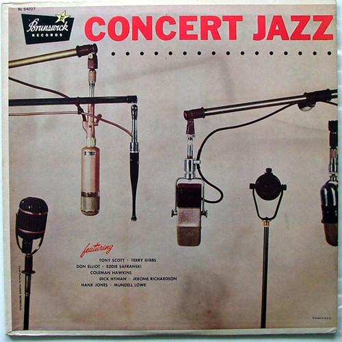 SCOTT GIBBS HAWKINS Concert Jazz BRUNSIWCK 54027 Arg LP