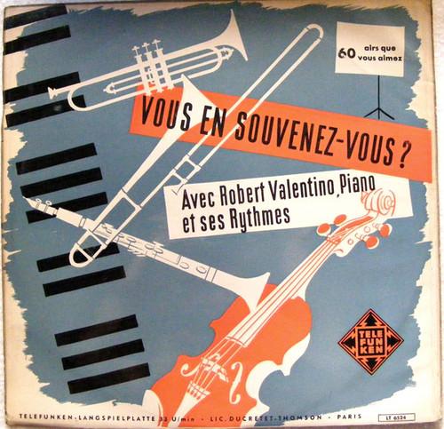 ROBERT VALENTINO Vous En Souvenes TELEFUNKEN LT-6524 LP