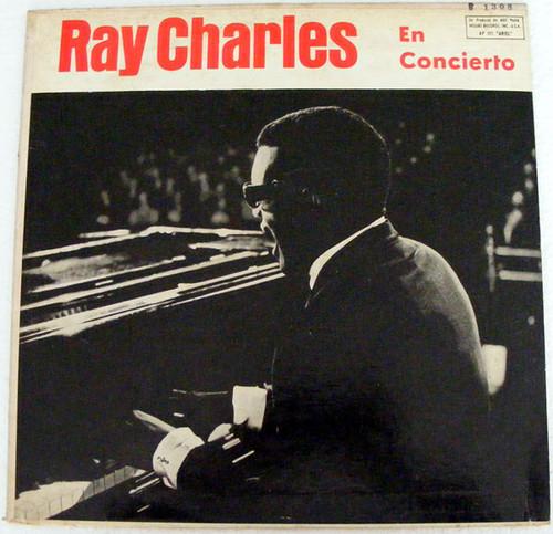 RAY CHARLES En Concierto ARIEL P-177 JAZZ Argentina LP