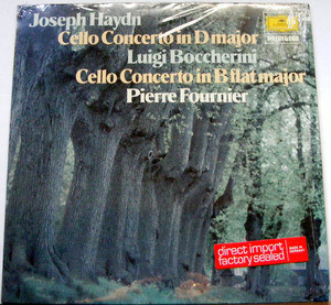 PIERRE FOURNIER DGG Privilege 2535179 CELLO LP Haydn NM
