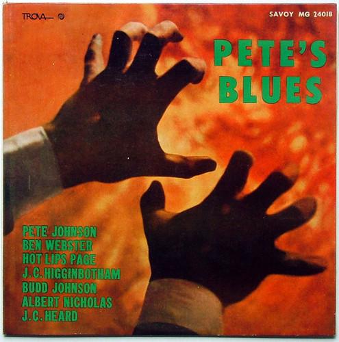 PETE JOHNSON Pete's Blues SAVOY MG 24018 JAZZ Argentina LP NM/EX