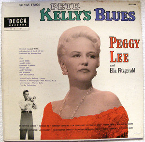 PEGGY LEE & ELLA FITZGERALD Pete Kelly DECCA DL-8166 LP