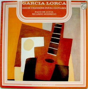 PACO DE LUCIA & MODREGO Philips 6599856 LP GARCIA LORCA