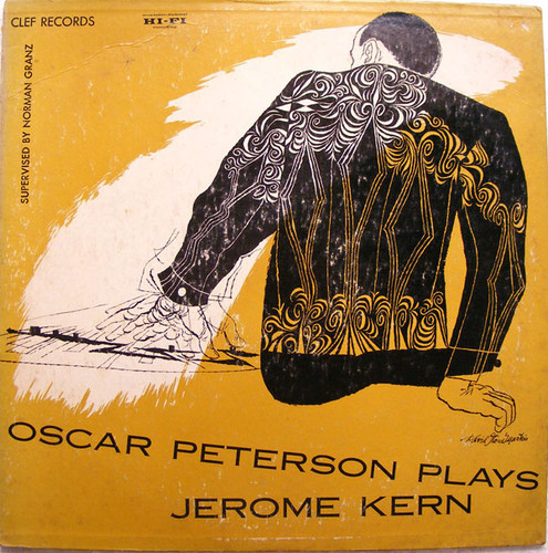 OSCAR PETERSON plays Jerome Kern CLEFF MGC-623 JAZZ LP