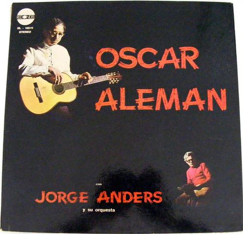OSCAR ALEMAN & JORGE ANDRES Redondel 10511 JAZZ Arg LP