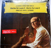 NARCISO YEPES DGG 2530 462 BACH Works for Lute II LP NM