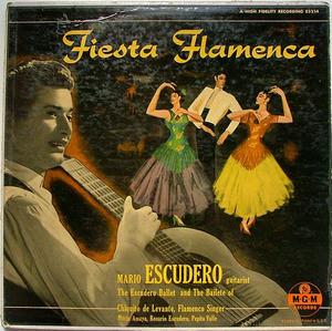 MARIO ESCUDERO Fiesta Flamenca MGM E3214 Spanish LP