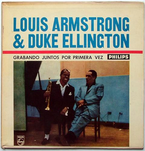 LOUIS ARMSTRONG & DUKE ELLINGTON Philips 630617 Arg LP