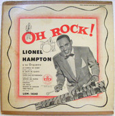 """LIONEL HAMPTON Oh Rock! MGM LEM-14342 Arg 10"""" LP"""