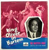 """KING OLIVER In Harlem HMV DLP-1096 10"""" JAZZ LP"""