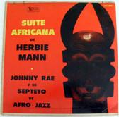 JOHNNY RAE Suite Africana UNITED ARTISTS 4042 Arg LP