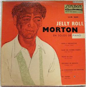 JELLY ROLL MORTON Solos De Piano LONDON 16311 Arg 10 LP