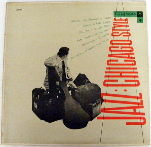 JAZZ CHICAGO STYLE Various CONDON, MCKENZIE, MOLE Columbia 8104 Arg LP EX/EX