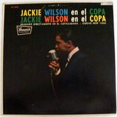 JACKIE WILSON en el Copa CORAL 54108 JAZZ Argentina LP EX/VG+