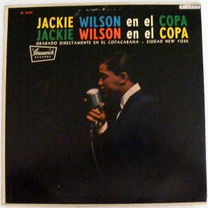 JACKIE WILSON en el Copa CORAL 54108 JAZZ Argentina LP