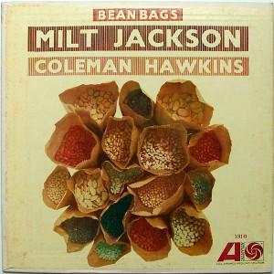 JACKSON & HAWKINS Bean Bags ATLANTIC 1316 JAZZ Arg LP