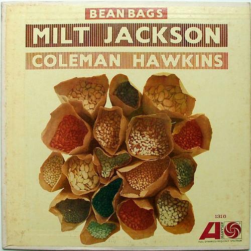 JACKSON & HAWKINS Bean Bags ATLANTIC 1316 JAZZ Argentina LP EX/EX