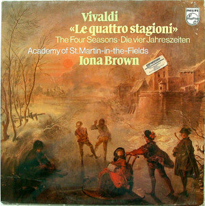 I. BROWN & St.MARTIN FIELDS Philips 9500 717 VIVALDI LP