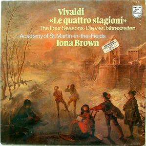 I. BROWN & St.MARTIN FIELDS Philips 9500 717 VIVALDI LP