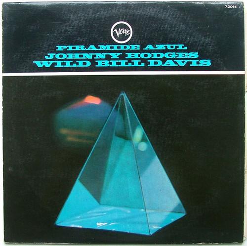 HODGES & DAVIS Piramide Azul VERVE 72014 JAZZ Arg LP
