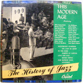 """HISTORY OF JAZZ Vol.4 This Modern Age CAPITOL 10"""" LP"""