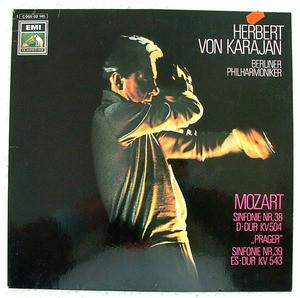 HERBERT VON KARAJAN Emi/hmv 065-02146 MOZART Sinf 38 LP