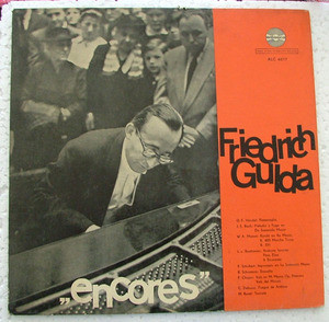 FRIEDRICH GULDA Encores AMADEO ALC 6017 Arg LP NM-