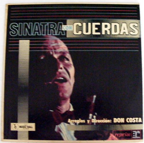 FRANK SINATRA Con cuerdas REPRISE 12228 Argentina LP EX/EX