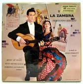 F. SIRVENT & D. ALVARADO La Zambra STEREODISC 5848 LP