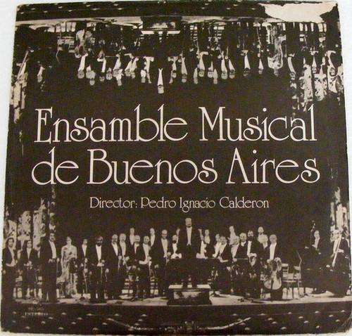 ENSAMBLE MUSICAL DE BUENOS AIRES Talent 565 Arg LP NM