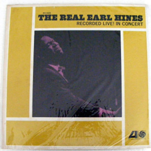 EARL HINES The Real ATLANTIC 33335 JAZZ Argentina LP NM