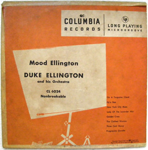 "DUKE ELLINGTON Mood Ellington COLUMBIA CL6024 10"" LP"
