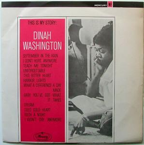 DINAH WASHINGTON This is my story MERCURY 6037 Arg LP
