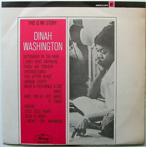 DINAH WASHINGTON This is my story MERCURY 6037 Argentina LP EX