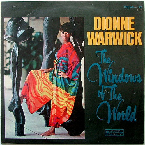 DIONNE WARWICK The windows of the world TROVA 563 Argentina LP EX/EX