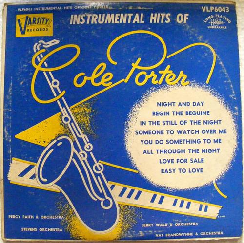 "COLE PORTER Instrumental Hits ROYALE VLP-6043 10"" LP"