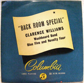 CLARENCE WILLIAMS Back Room Special COLUMBIA 33S1067 LP