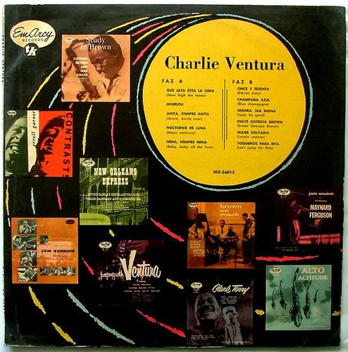 CHARLIE VENTURA EmArcy/TK MG-36015 JAZZ Argentina LP EX/VG+