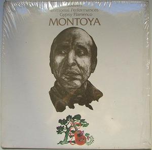 CARLOS MONTOYA Gypsy Flamenco ABC 739 PROMO LP+INSERT