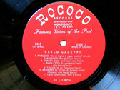 CARLO GALEFFI Rococo 5303 VERDI/BOITO/MASCAGNI LP