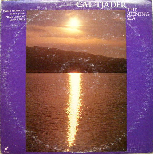 CAL TJADER The Shining Sea CONCORD CJ-159 JAZZ LP NM-