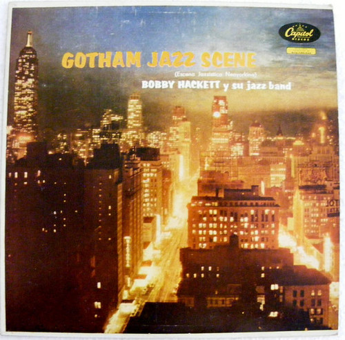 BOBBY HACKETT Gothan Jazz Escene CAPITOL T-857 Argentina LP EX/EX