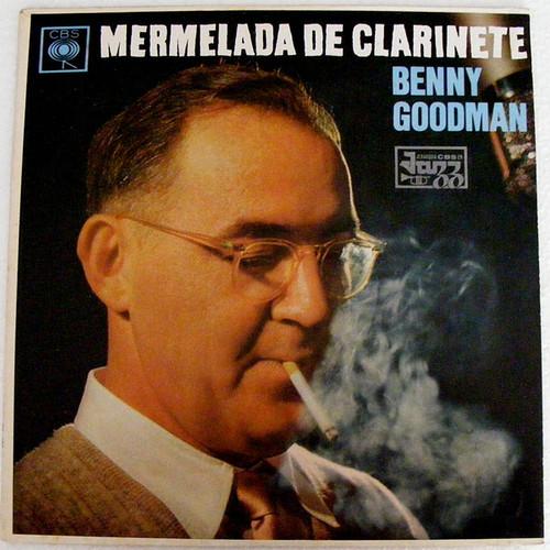 BENNY GOODMAN Mermelada Clarinete CBS 8612 Argentina PROMO LP NM/EX