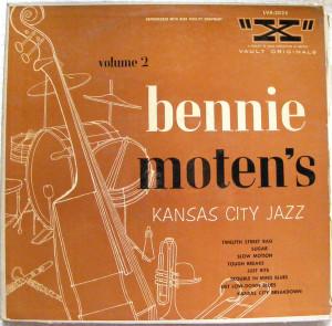 """BENNIE MOTEN'S KANSAS CITY JAZZ Vol 2 """"X"""" LVA-3025 LP"""