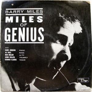 BARRY MILES Miles Of Genius CHARLIE PARKER PLP-804 LP